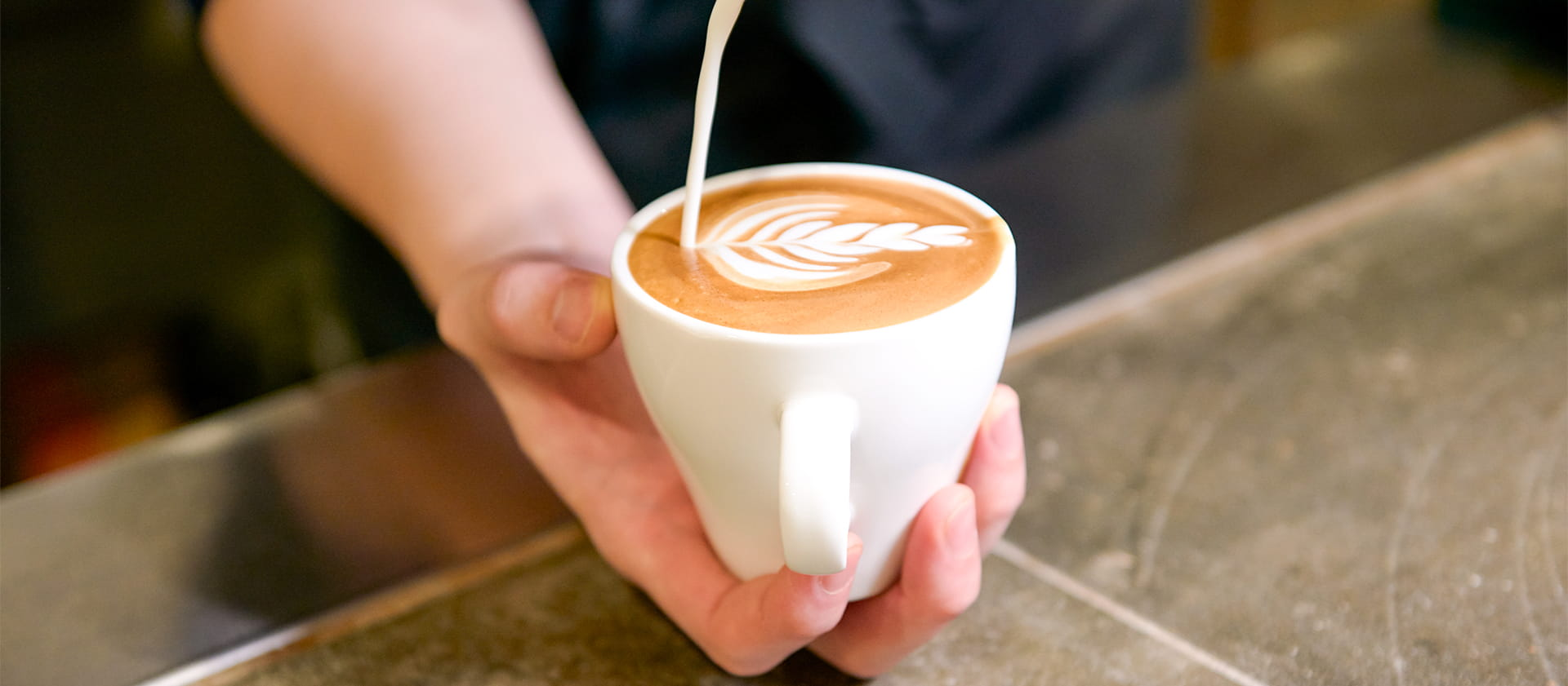 オリジナルカフェ用マグカップ