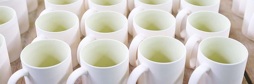 カフェ用オリジナルマグカップ