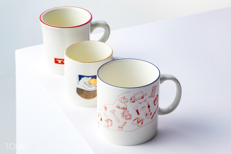 エッジカラーリングマグカップ