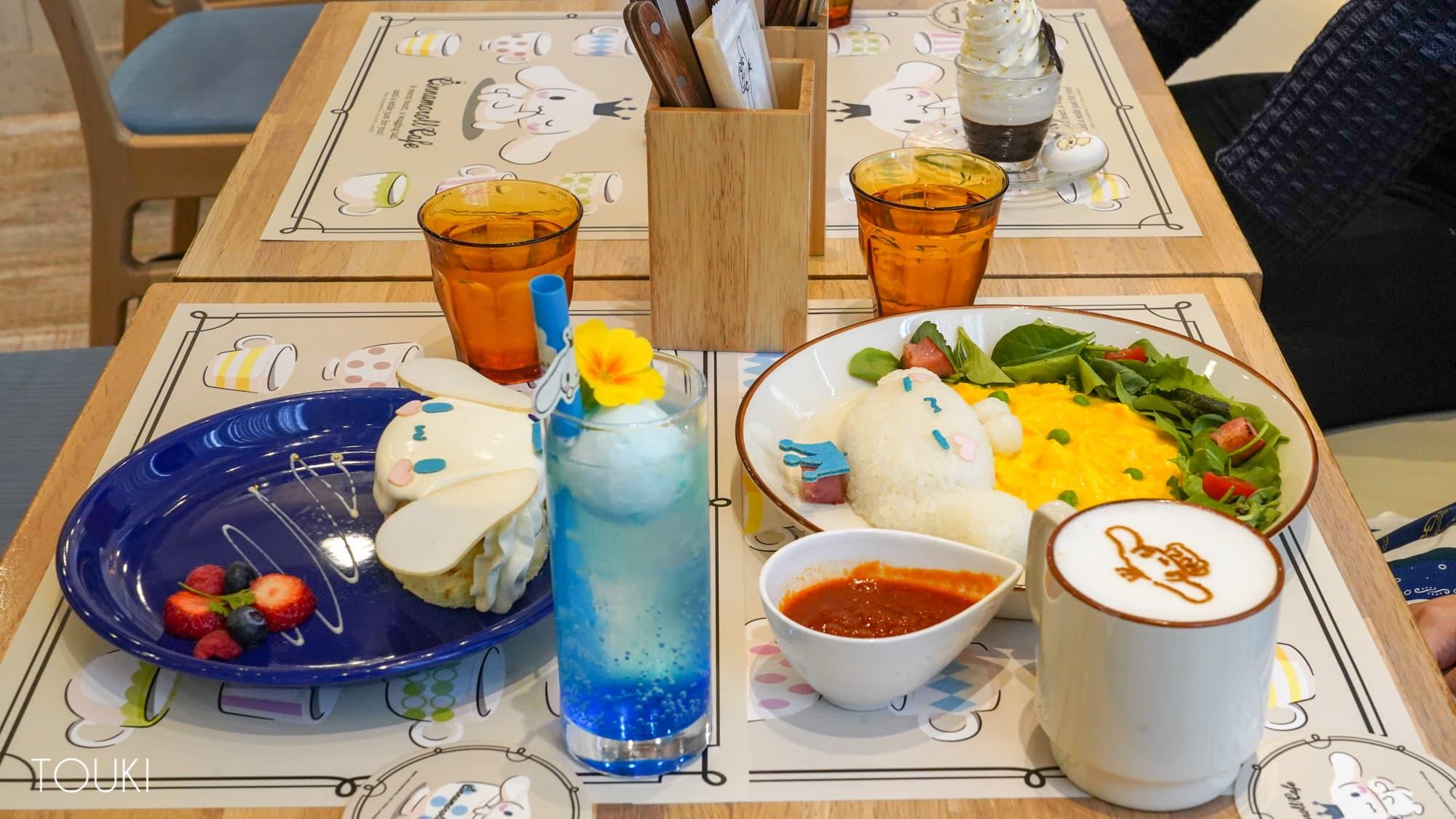 大人気サンリオキャラクターとコラボするカフェの3周年記念グッズに選ばれたオリジナルプレート