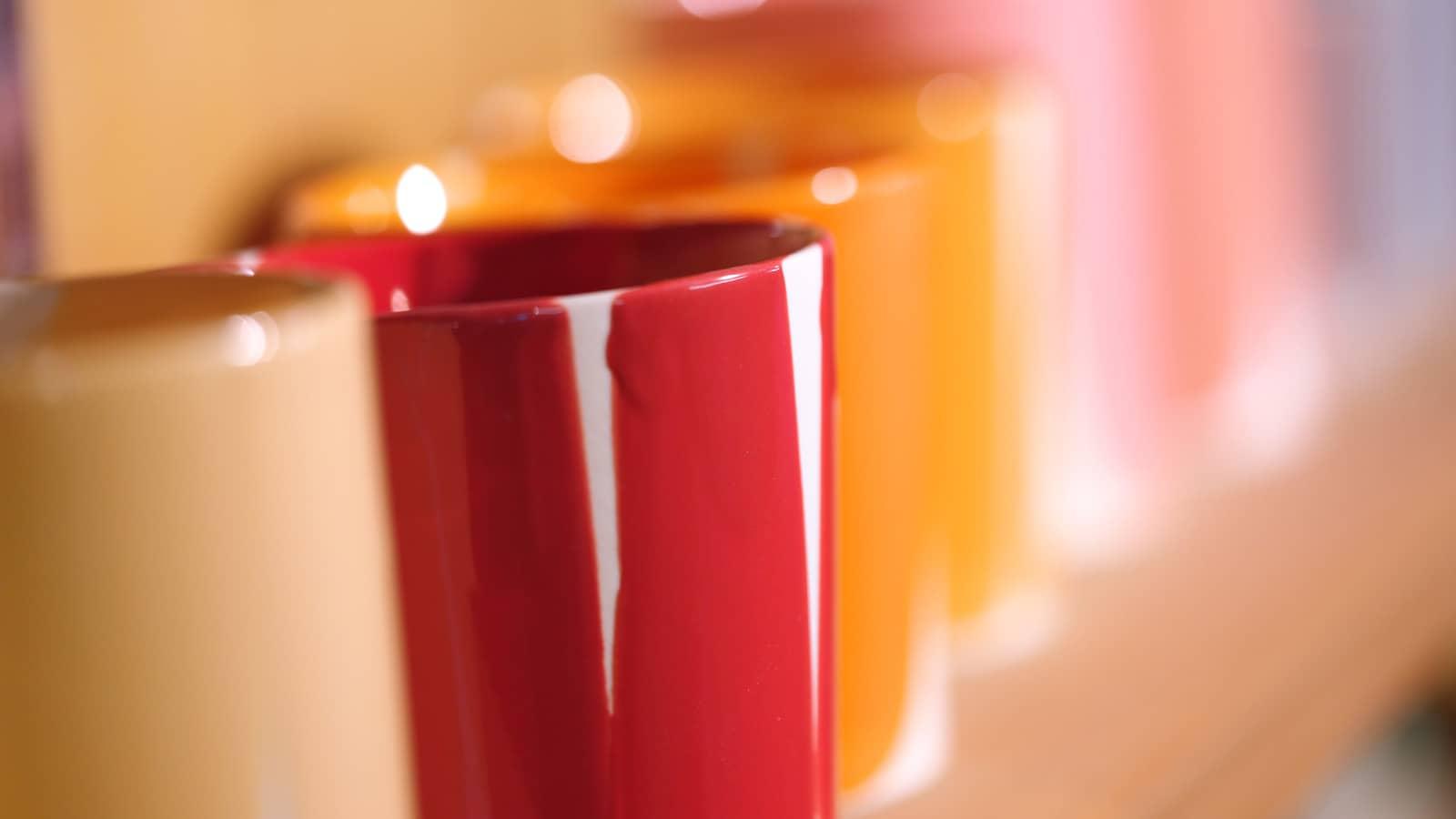 オリジナル陶器のカラーリングに必要な釉薬